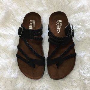 White Mountain footbeds sandals